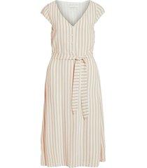 klänning visovera midi capsleeve dress