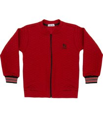 jaqueta dnm bomber bordã´ - vermelho - menino - dafiti