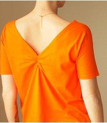 pomarańczowa dwustronna bluzka s-xl