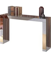 mesa aparador em mdf gênova 90x120cm espelhado