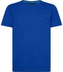 t-shirt manga corta clasica azul tommy hilfiger