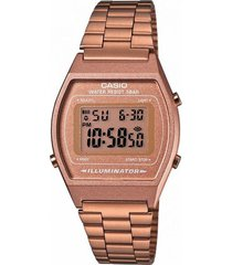 reloj casio b640wc_5a rosa acero inoxidable,