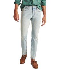 men's bonobos all season travel slim fit stretch jeans, size 33 x 32 - blue