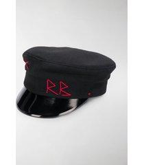 ruslan baginskiy logo stitch baker boy hat