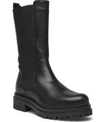 biadarlene fashion long boot höga stövlar svart bianco