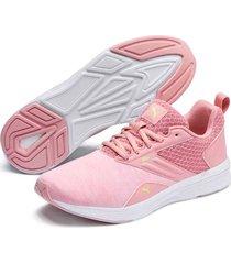 tenis - running - puma - rosado - ref : 19055628