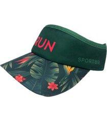 viseira running folhas sportbr