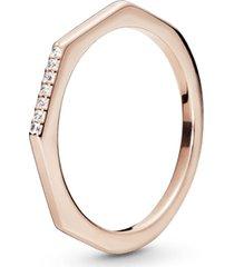 anel pandora rose™ multifacetado