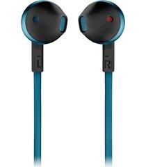 audifonos bluetooth jbl tune 205bt inalambricos - azul petroleo