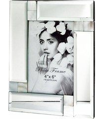 porta retrato espelho 18x23 p/ fotos 10x15 - incolor - dafiti