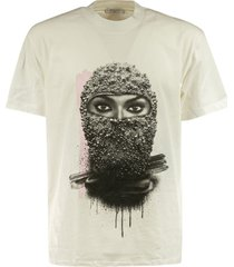 ih nom uh nit mask on t-shirt