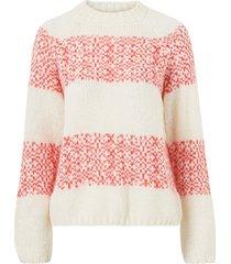 tröja highneck chunky knit
