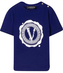 young versace blue t-shirt