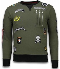 sweater local fanatic basic embroidery - sweater patches -