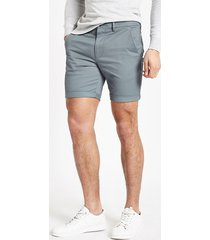 river island mens blue skinny chino shorts