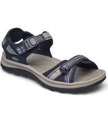ke terradora ii open toe sandal w navy-light blue shoes sport shoes outdoor/hiking shoes blå keen