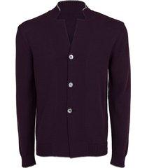 viola knit cardigan blazer