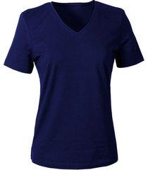 v-shirt voor haar, marineblauw 40