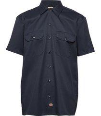 short sleeve work shirt kortärmad skjorta blå dickies