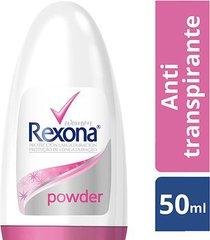 desodorante antitranspirante rexona powder dry rollon feminino 50ml