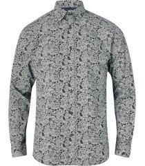 skjorta jprluis print shirt l/s plain