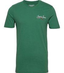 jorflexx tee ss crew neck t-shirts short-sleeved grön jack & j s