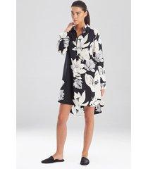 natori lotus sleepshirt sleepwear pajamas & loungewear, women's, size l natori