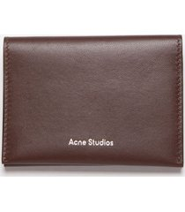 acne studios card holder flap