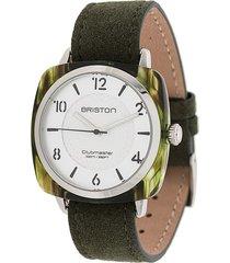 briston watches clubmaster elements watch - green