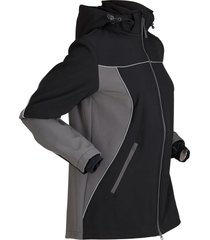 giacca comoda in softshell (nero) - bpc bonprix collection