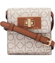 calvin klein kiera crossbody wallet
