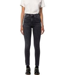 black high waist skinny jeans - hightop tilde night spirit