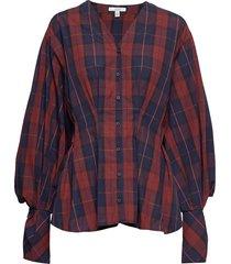 penny blouse lange mouwen rood dagmar