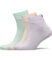 puma unisex lifestyle quarters 3p underwear socks regular socks vit puma
