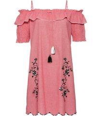 abito ricamato (rosso) - bodyflirt boutique