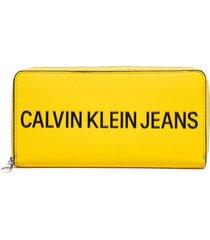 billetera amarillo calvin klein