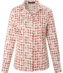 blouse 100% katoen lange mouwen van fadenmeister berlin wit
