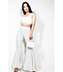 akira too fly for you fitted flare pants