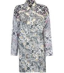 isabel marant étoile abstract print dress