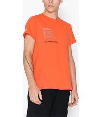 sixth june hvman t-shirt t-shirts & linnen orange
