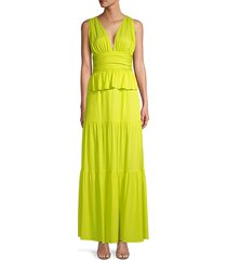 zadie tiered ruffle maxi dress