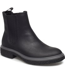 crepetray hybrid w shoes chelsea boots svart ecco