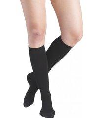 calcetín active con compresión negro ibici