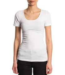 ten cate dames t-shirt korte mouw wit