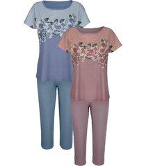 pyjama harmony oudroze/bleu