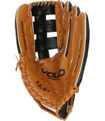 luva de beisebol vollo 12,5 polegadas - adulto - marrom