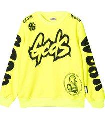 gcds mini yellow sweatshirt