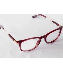 gafas monturas oftálmicas rojo san marino