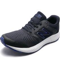 tenis running azul navy-blanco new balance course 520