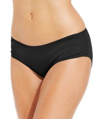 coco reef ruched hipster bikini bottoms women's swimsuit